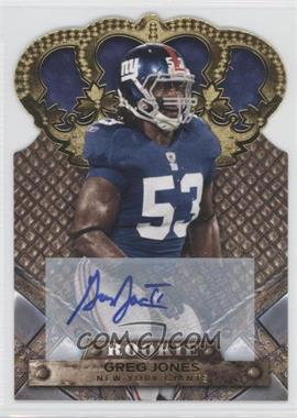 2011 Crown Royale Gold Signatures [Autographed] #134 - Greg Jones /499