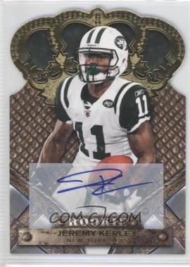 2011 Crown Royale Gold Signatures [Autographed] #144 - Jeremy Kerley /499
