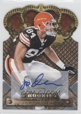 2011 Crown Royale Gold Signatures [Autographed] #148 - Jordan Cameron /499