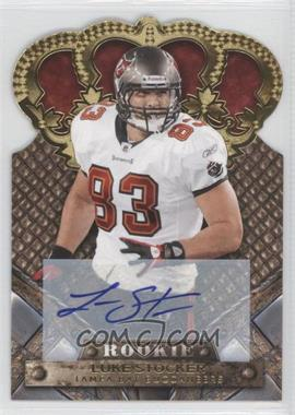 2011 Crown Royale Gold Signatures [Autographed] #157 - Luke Stocker /499