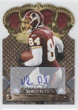 2011 Crown Royale Gold Signatures [Autographed] #170 - Niles Paul /499