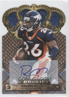 2011 Crown Royale Gold Signatures [Autographed] #177 - Rahim Moore /499