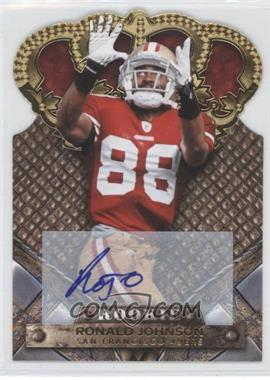 2011 Crown Royale Gold Signatures [Autographed] #184 - Ronald Johnson /499