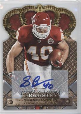 2011 Crown Royale Gold Signatures [Autographed] #189 - Shane Bannon /499