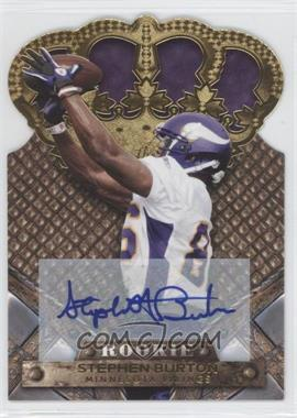2011 Crown Royale Gold Signatures [Autographed] #192 - Stephen Burton /499