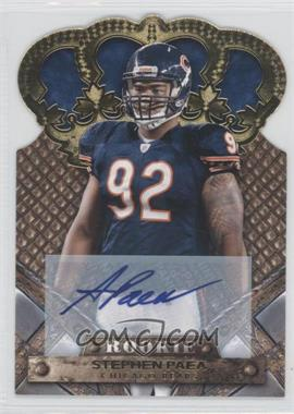 2011 Crown Royale Gold Signatures [Autographed] #193 - Stephen Paea /499