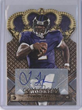 2011 Crown Royale Gold Signatures [Autographed] #198 - Tyrod Taylor /499