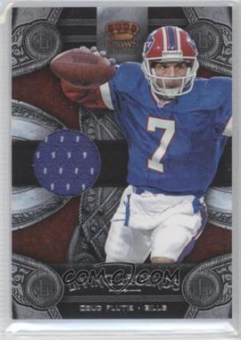 2011 Crown Royale Living Legends Materials [Memorabilia] #11 - Doug Flutie /299