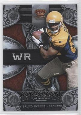 2011 Crown Royale Living Legends #18 - Sterling Sharpe