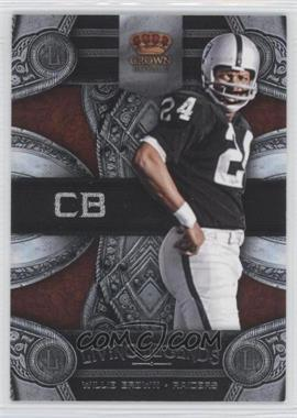 2011 Crown Royale Living Legends #20 - Willie Brown