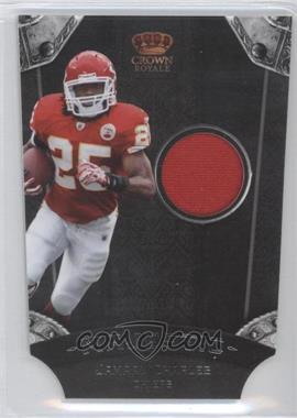 2011 Crown Royale Majestic Materials [Memorabilia] #18 - Jamaal Charles /75