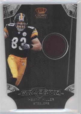 2011 Crown Royale Majestic Materials [Memorabilia] #9 - Heath Miller /299