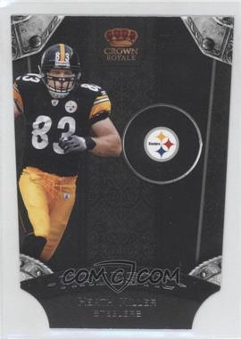 2011 Crown Royale Majestic #9 - Heath Miller