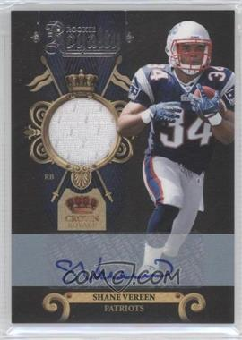 2011 Crown Royale Rookie Royalty Materials Signatures [Autographed] [Memorabilia] #21 - Shane Vereen /100