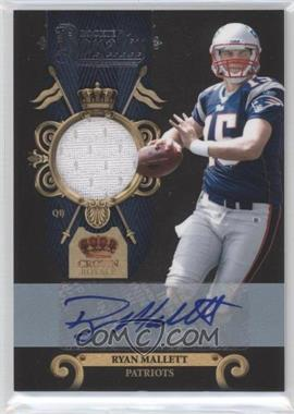 2011 Crown Royale Rookie Royalty Materials Signatures [Autographed] [Memorabilia] #36 - Ryan Mallett /50