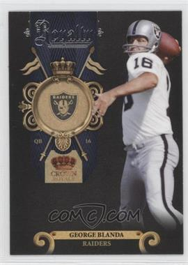 2011 Crown Royale Royalty #10 - George Blanda