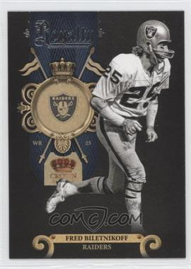 2011 Crown Royale Royalty #16 - Fred Biletnikoff