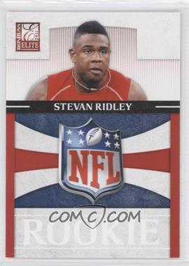 2011 Donruss Elite - Rookies - NFL Shield Logo #26 - Stevan Ridley /999