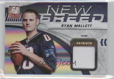 2011 Donruss Elite New Breed Jersey Prime #27 - Ryan Mallett /50
