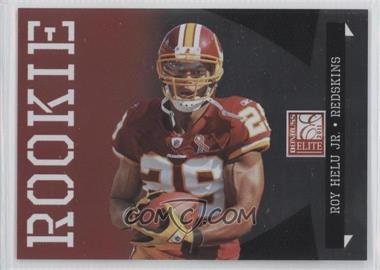 2011 Donruss Elite Rookie Variations #156 - Roy Helu Jr. /999