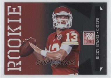 2011 Donruss Elite Rookie Variations #181 - Ricky Stanzi /999