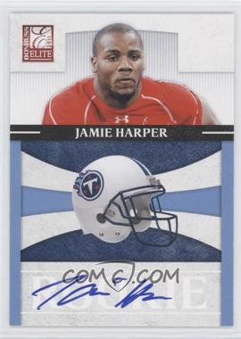 2011 Donruss Elite Rookies NFL Team Logo Signatures [Autographed] #19 - Jamie Harper