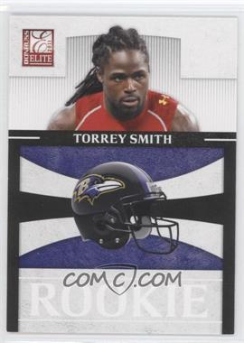 2011 Donruss Elite Rookies NFL Team Logo #10 - Torrey Smith /999