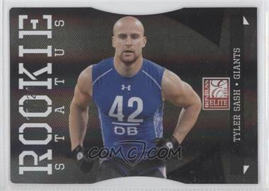 2011 Donruss Elite Status Black Die-Cut #198 - Tyler Sash /24