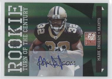 2011 Donruss Elite Turn of the Century Rookie Signatures [Autographed] #165 - Mark Ingram /199