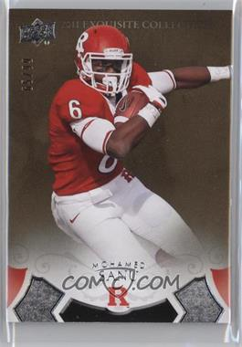 2011 Exquisite Collection 2012 Rookies #ER-MS - Mohamed Sanu /99