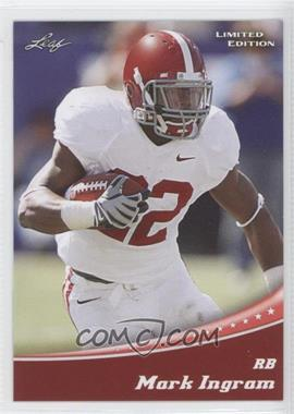 2011 Leaf Draft - Limited Edition #12 - Mark Ingram