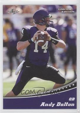 2011 Leaf Draft - Limited Edition #2 - Andy Dalton