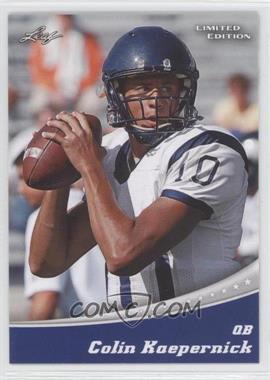 2011 Leaf Draft - Limited Edition #6 - Colin Kaepernick (Blue)