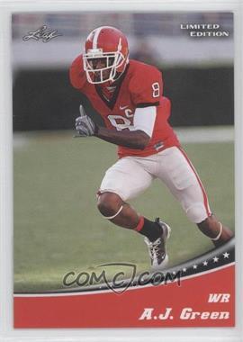 2011 Leaf Draft Limited Edition #1 - A.J. Green