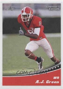 2011 Leaf Draft Limited Edition #1 - A.J. Green