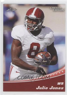 2011 Leaf Draft Limited Edition #10 - Julio Jones