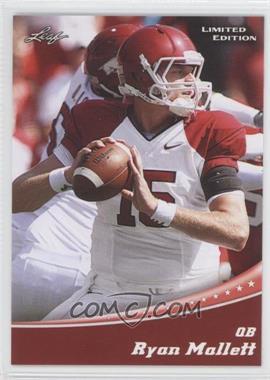 2011 Leaf Draft Limited Edition #16 - Ryan Mallett
