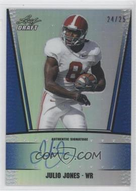 2011 Leaf Metal Draft [???] #RC-2 - Julio Jones /25