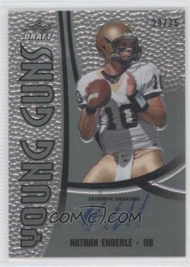 2011 Leaf Metal Draft [???] #YG-NE1 - Nathan Enderle /25