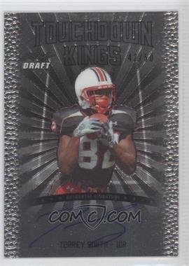 2011 Leaf Metal Draft Touchdown Kings #TK-1 - Torrey Smith /50