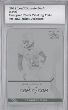 2011 Leaf Ultimate Draft [???] #U-1 - Mike Leach /1 [ENCASED]