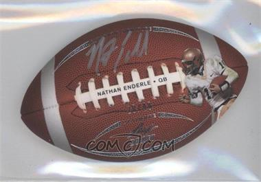 2011 Leaf Ultimate Draft Football Die-Cuts #FB-NE1 - Nathan Enderle