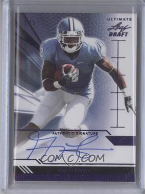 2011 Leaf Ultimate Draft Purple #U-1 - Greg Little /5
