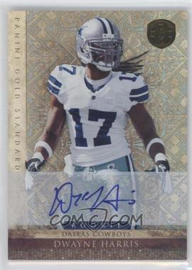 2011 Panini Gold Standard Silver Signature [Autographed] #182 - Dwayne Harris /499