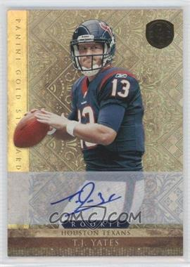2011 Panini Gold Standard Silver Signature [Autographed] #244 - T.J. Yates /499