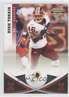 2011 Panini Gridiron Gear - [Base] - Gold Xs #89 - Ryan Torain /100