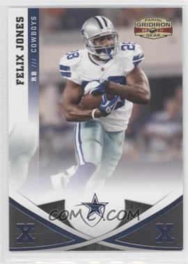 2011 Panini Gridiron Gear - [Base] - Silver Xs #83 - Felix Jones /250