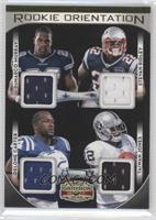Delone Carter, DeMarco Murray, Stevan Ridley, Taiwan Jones /150