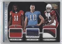 Julio Jones, Ryan Williams, Jake Locker /25