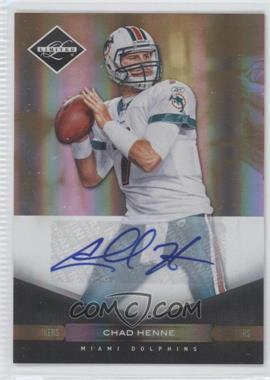 2011 Panini Limited - [Base] - Monikers Gold [Autographed] #51 - Chad Henne /25